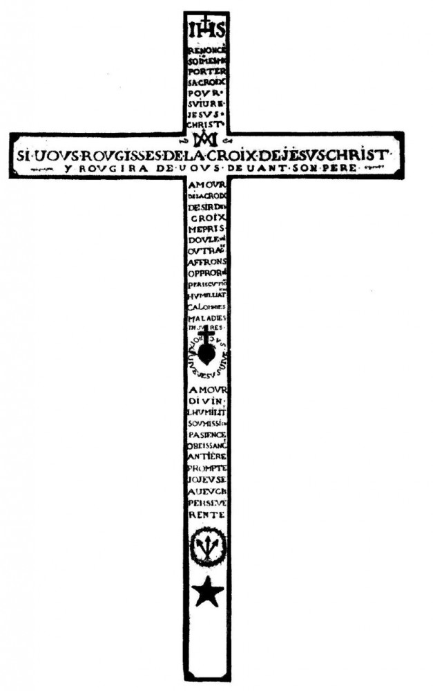 cruz de montfort