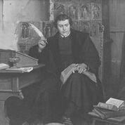 lutero escribiendo